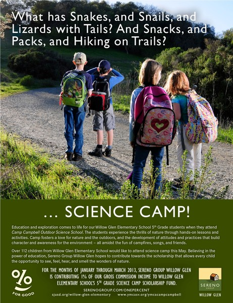 Willow Glen Elementary / Camp Campbell Science Cam